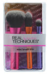 Real Techniques Mini Brush Trio Набор мини-кистей