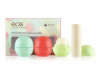 Eos Smooth Sphere / Smooth Stick Multipack 4-Pack Lip Balm набор бальзамов для губ