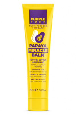 Purple Tree Miracle Balm Papaya бальзам для губ с экстрактом папайи