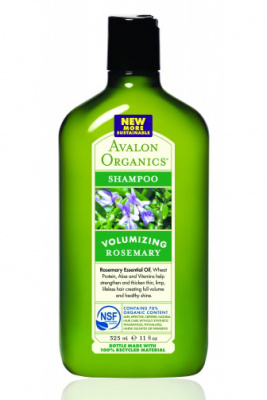Avalon Organics Rosemary Volumizing Shampoo шампунь для объема волос с маслом розмарина